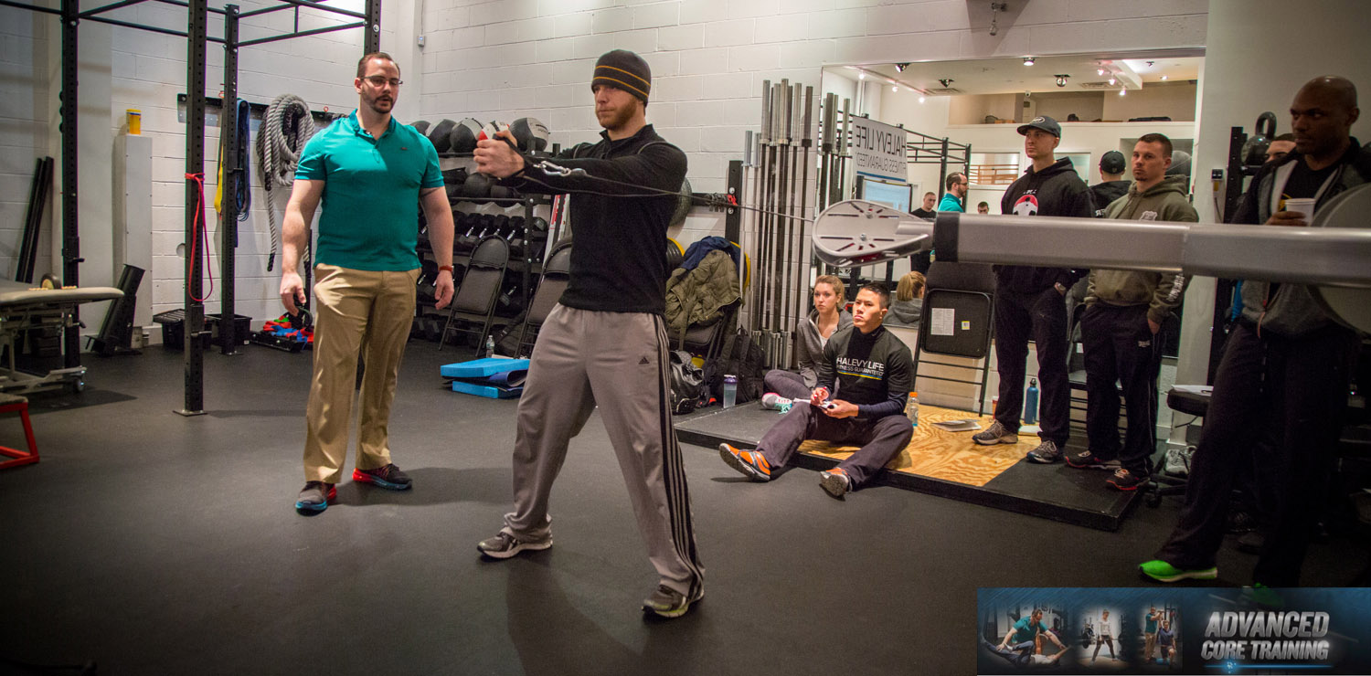 Advanced Core Training Seminar with Dean Somerset_